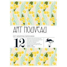 Art Nouveau Wrap Book, 9,95€, now featured on Fab.