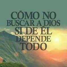 ¡Dios tiene todo bajo control! #Fe #Esperanza #Amor