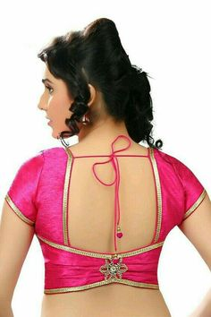 We are here with selected Back Neck Blouse Designs Patterns for modern look and glamourous style. Simple Blouse Designs, Saree Blouse Neck Designs, Stylish Blouse Design, Choli Designs, Saree Blouse Patterns, Designer Blouse Patterns, Bridal Blouse Designs, Indian Blouse Designs, Design Patterns
