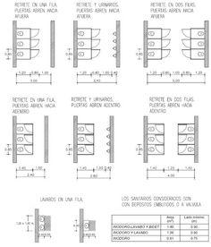 Instalaciones Sanitarias: - Sanitarios Públicos Architecture Plan, Architecture Details, Architecture Drawings, Toilet Plan, Ada Toilet, Wc Public, Auditorium Design, Architecture Foundation, Toilette Design