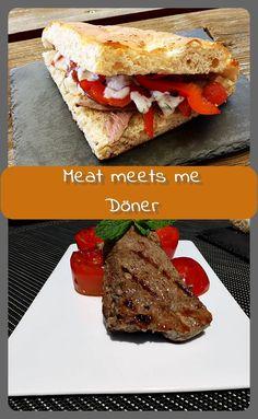 meat meets me Döner Mein selbst kreierter Döner besteht aus gutem gegrilltem Lammfleisch, frischen gegrillten Tomaten, gegrillter Paprika sowie einem frischen Joghurt-Di...