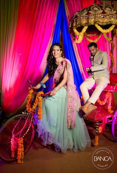 Bridal Photoshoot on Happy Shappy Wedding Photo Booth, Wedding Props, Wedding Stage, Wedding Bells, Wedding Ideas, Indian Wedding Decorations, Indian Weddings, Backdrop Decorations, Indian Wedding Photography