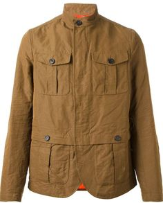 Tobacco Military Jacket by DSquared. Buy for $1,189 from farfetch.com
