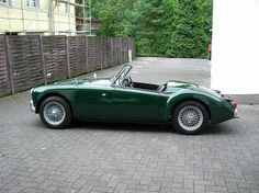 MG I have always had a thing for MGs. It is the only car that ever grabbed me. If I had a million dollars, there are tens of thousands of things I'd want before a car. But this would be the car. A British Racing Green MG