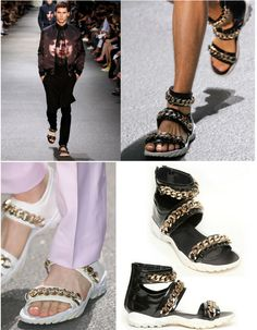 Givenchy Men's Gladiator Sandals | 26 Designer Knock-Off DIYs That Cost Way Less Than The Real Thing