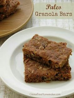 GF granola bars