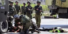 #Palestinian stabs #Israeli officer amid new surge in violence