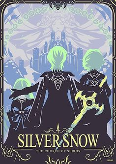 'Silver Snow' Photographic Print by SnipSnipArt New Fire Emblem, Fire Emblem Games, Fire Emblem Awakening, Creepypasta Anime, Fire Emblem Characters, Blue Lion, Babe, Animation, Manga