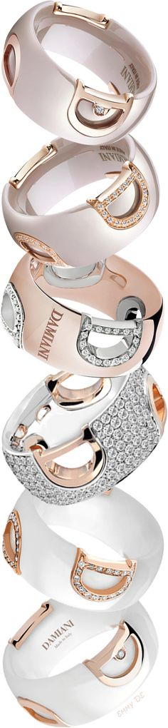 Brilliant Luxury by Emmy DE * Damiani 'Icon' Rings
