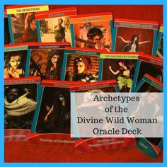 Archetypes of the Divine Wild Woman Oracle Deck by DivineWildWoman
