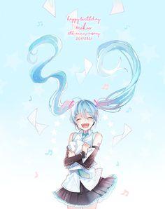 初音ミク10th Hatsune Miku 10th anniversary HAPPY BIRTHDAY MIKU!!!!!