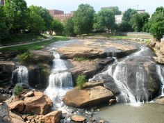 Falls Park, Greenville, South Carolina