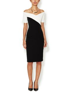 Jeweled Sheath Dress by ML Monique Lhuillier at Gilt