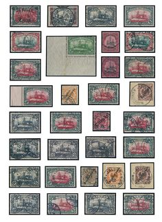German colonies - rich collection, except for little issues in the number of a major listing complete and mainly used compiled in the Lindner T hingeless printed form ring binder. As well many better sets, numerous 5 Mk. values and so on. Please detailed inspect!