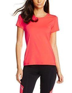 Oferta: 9.99€. Comprar Ofertas de IRIS & LILLY Camiseta deportiva de manga corta para mujer Rosa (Geranium) Medium barato. ¡Mira las ofertas!