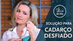 Solução para cadarço desfiado #aDicadoDia