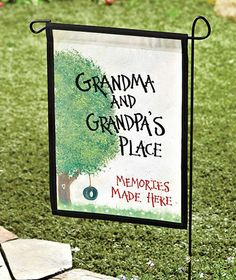 The Best Gifts For Grandmother Testimonials).: The Most Effective Gifts For Grandma Testimonials). photo gifts for grandparents You are in the right place about diy birthday adult Here we Grandparents Day Gifts, Grandparent Gifts, Grandpa Gifts, Gifts For Dad, Great Gifts, Top Gifts, Burlap Flag, Burlap Art, Yard Flags