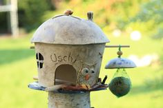 Tolles Vogelhaus, Unikat, Handarbeit