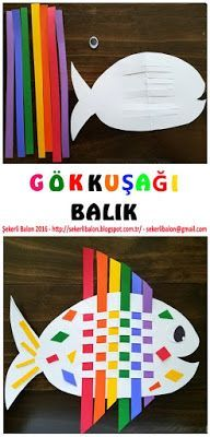 Şekerli Balon: Renkli Balık
