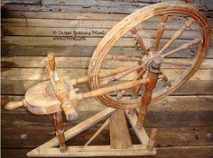 Eirny - Norwegian/Swedish spinning wheel