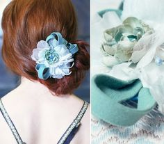 Spring-Inspired Hair Accessories for Weddings | Emmaline Bride