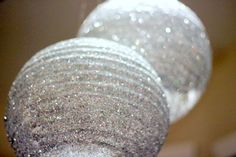 Use Silver Glitter and Silver Discs to cover a lantern. Makes a DIY Disco Ball for your next party You just need glitter, elmers glue, a brush and a lantern Use bigger pieces of confetti to embellish Rock Star Party, Diys, Diy Party, Party Ideas, Paper Lanterns, New Years Eve Party, Silver Glitter, Glitter Glue, Just In Case