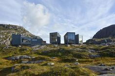 Wow - Norway i staking cabins to a whole new level