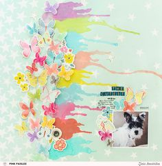 Use your stamps to create unique embellishments for your scrapbook layouts or any other project. @pinkpaislee @abstractinspiration #pinkpaislee #abstractinspiration #ziniaamoiridou #ppturnthepage #stamps #stamping #mixedmedia #scrapbook #scrapbooking
