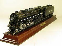 FRANKLIN MINT 1902 HUDSON J3 20TH CENTURY LIMITED DIECAST MODEL TRAIN & TENDER @ ebay