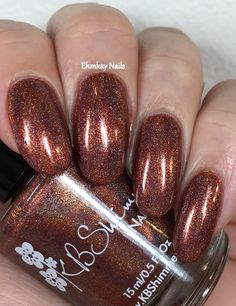 ehmkay nails: KBShimmer Indie Shop Exclusives: It's Petrifying and I Never Wood Have Guessed
