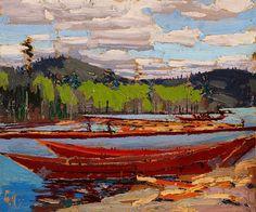 Bateaux - Tom Thomson