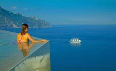 Fantastic View...Monastero Santa Rosa Hotel infinity pool
