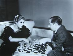 Mae Clarke (1910-1992) with José Raúl Capablanca