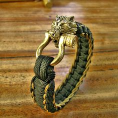 Check out this item in my Etsy shop https://www.etsy.com/listing/586820150/gold-werewolf-paracord-bracelet