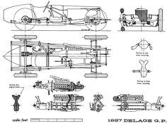 Delage GP (1927) | SMCars.Net - Car Blueprints Forum