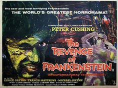 projetor antigo: A Vingança De Frankenstein 1958 Leg  1958, Eunice Gayson, Francis Matthews, John Stuart, John Welsh, Legendado, Lionel Jeffries, Michael Gwynn, Michael Ripper, Peter Cushing, Terence Fisher, Terror