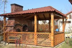 Frumoase foc grătarele lui Dragomir! Hai să afli povestea lor | Adela Pârvu - Interior design blogger Backyard Fireplace, Gazebo, Bbq, Outdoor Structures, Gardening, Home Decor, Barbecue, Kiosk, Decoration Home