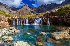 Fairy pools, Isle of Sky, Scotland