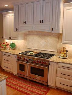 Travertin Backsplash Modell #Küchenmöbel #dekoideen #möbelideen
