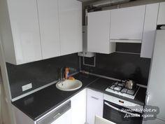 Кухня 6 м - как уместить холодильник, духовой шкаф и полногабаритную (60 см) посудомоечную машину (9 фото)