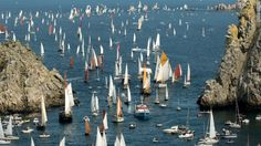 Beetje druk This summer will be the 20th anniversary of the festival, which always features tall ship races and regattas along the Brittany coast line.