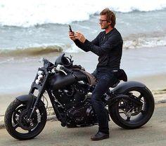 Classy motorbike - David Beckham