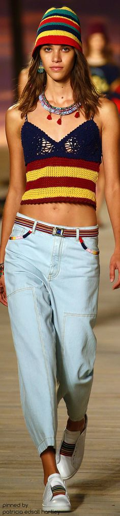 SPRING 2016 READY-TO-WEAR Tommy Hilfiger Boho Fashion