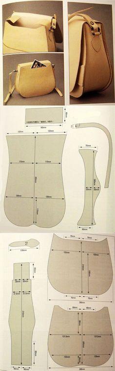 Как сшить сумку из кожи | WomaNew.ru - уроки кройки и шитья!: