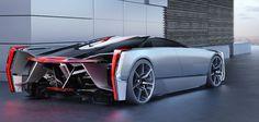 Cadilac Estill Super Car Concept by Ondrej Jirec