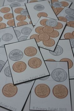 War (A Money Game) Canadian Coin War - fun way to practice counting moneyCanadian Coin War - fun way to practice counting money Math For Kids, Fun Math, Math Games, Money Activities, Money Games, Teaching Money, Teaching Math, Kindergarten Math, Canada Day