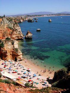 Paisaje del Algarve - Portugal