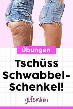 DAS sind die besten Beinübungen für Frauen! Die machen Schwabbel-Schenkel den Gar aus! #beinübungenfrauen #oberschenkelübungen #oberschenkeltraining #schlankebeinetipps #schlankebeine