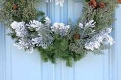 how to make a christmas wreath, crafts, how to, seasonal holiday decor, wreaths