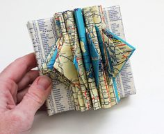 Michigan Map Art Sculpture by yinsteadofi on Etsy, $18.00